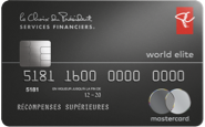 World Elite MasterCard <sup>MD</sup> Services financiers le Choix du Président
